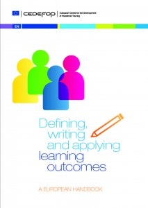 CEDEFOP - DEFINING, WRITING AND APPLYING LEARNING OUTCOMES